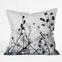 Mareike Bohmer Abstract Tree Throw Pillow