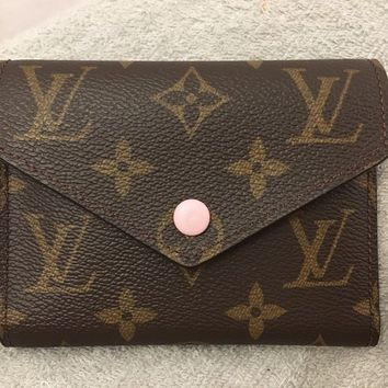Louis Vuitton Victorine portefeuille wallet Rose Ballerine