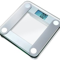 "EatSmart Precision Digital Bathroom Scale w/ Extra Large Lighted Display, 400 Pound Capacity and ""Step-On"" Technology"