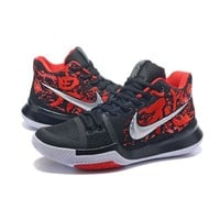 Best Deal Online Nike Kyrie Irving 3 PE Men Basketball Sneaker Samurai Multi-Color/Multi-Color Sports Shoes 852395-900