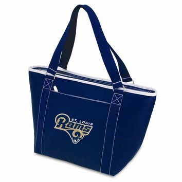 St. Louis Rams Insulated Navy Cooler Tote