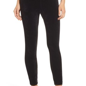 Juicy Couture Stretch Velour Leggings | Nordstrom