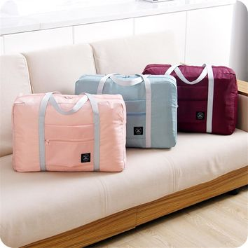 Women Multifunctional Travel Bags Large Capacity Men Hand Luggage Travel Duffle Bags Nylon Weekend Soft Bags Borsa da viaggio
