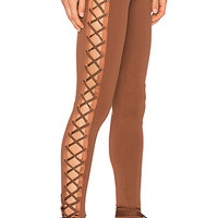 Fenty by Puma Lacing Legging in Friar Brown | REVOLVE