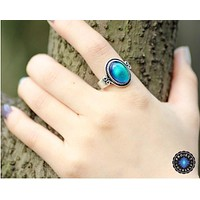 Vintage Glass Mood Ring