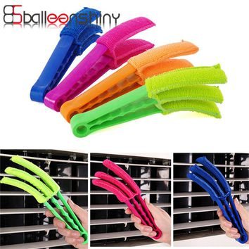 BalleenShiny 3-Blades Window Blinds Cleaning Brushes Air Conditioning Cleaner Multifunctional Dust Cleaning Tool Kitchen Tool