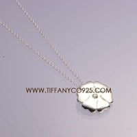 Shopping Cheap Palomas Crown of Hearts pendant with a diamond in sterling silv At Tiffanyco925.com - Discount Tiffany Necklaces