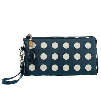 Toss Madrid Wristlet - Black /Cream