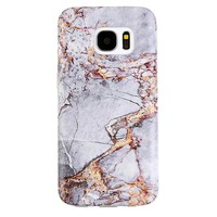 Gray & Gold Marble Samsung