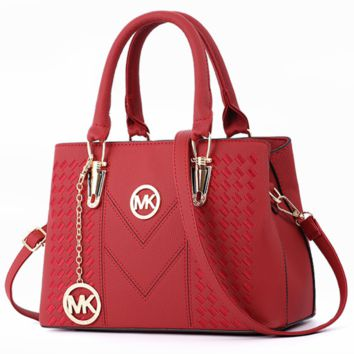 MK 2018 Summer Tide New Fashion Women's Bag Crossbody Shoulder Tote F0504-1 Red