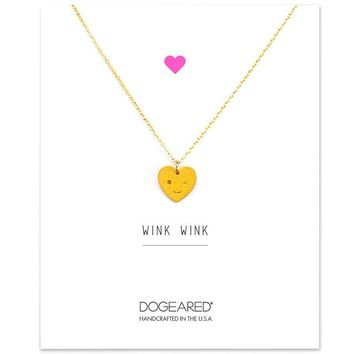 Shiny New Arrival Gift Jewelry Stylish Heart Gold Korean Alloy Lock Necklace [11972225295]