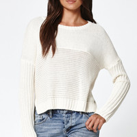 Roxy True To Your School Cropped Pullover Sweater at PacSun.com