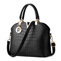 Crocodile Messenger Handbag