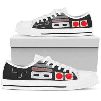 Retro Game Controller Low Top Shoes
