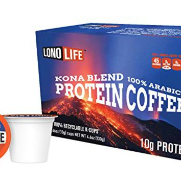 Kona Blend Protein Coffee 10g Protein per Serving - 10 Count (10 Count)