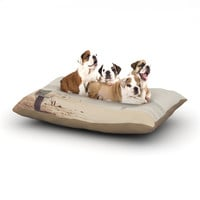 "Myan Soffia ""Beach Day"" Beach Ocean Dog Bed"