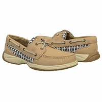 Women's Sperry Top-Sider Intrepid Linen Anchors FamousFootwear.com