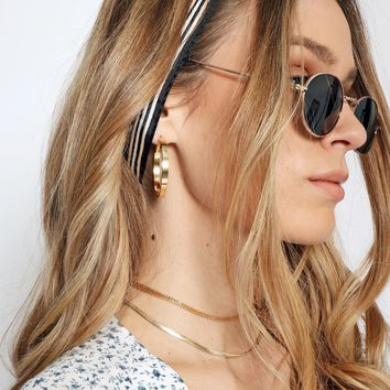 Dylan Skye Modern Hoop Earrings