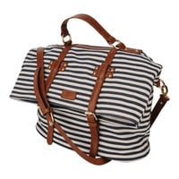 Striped Shoulder Bag