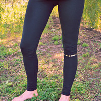 organic cotton navajo yoga leggings