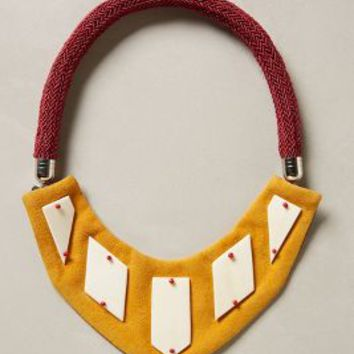 Safi Necklace by Parme Marin Yellow One Size Necklaces