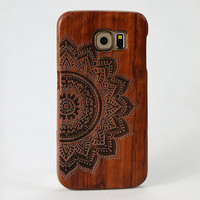 Galaxy s6 wood case wood note5 note4 s5 case cover natural wood iphone 6 6s case wooden iphone 6s plus 5c 5s case wooden gift