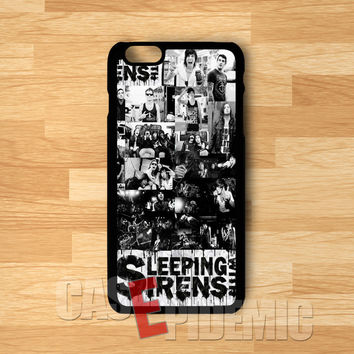 sleeping with sirens collage-1nn for iPhone 6S case, iPhone 5s case, iPhone 6 case, iPhone 4S, Samsung S6 Edge