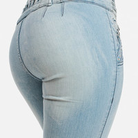 Cute Jeans-Fashion Levanta Cola Jeans-Skinny butt lifting jeans