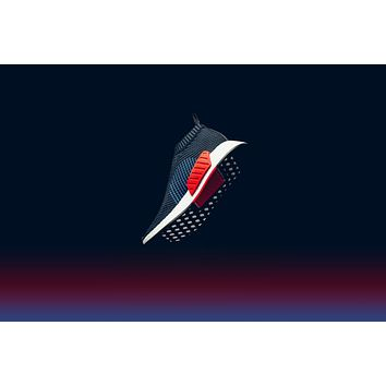 AA QIYIF Adidas NMD_CS2 Prime Knit - Black/Blue/Red