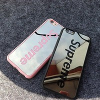 So Cool Luxury Supreme Sliver Mirror Case For Iphone 5 5s 6 6s 6Plus 6s Plus