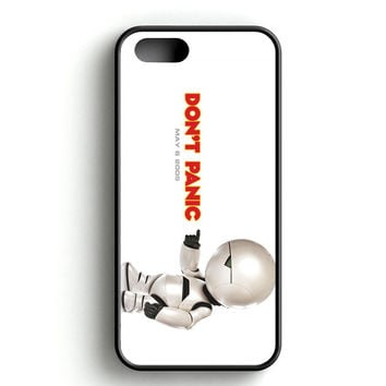 Hitchhikers Guide to the Galaxy Robot iPhone 4s iPhone 5s iPhone 5c iPhone SE iPhone 6 6s iPhone 6 6s Plus Case