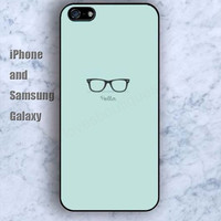 Cartoon glasses colorful iPhone 5/5S Ipod touch Silicone Rubber Case, Phone cover