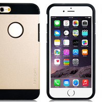 PMR 2 In 1 Rubber & Plastic Case for iPhone 6\6s