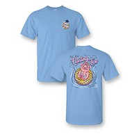 Sassy Frass Just Keep Floatin On Pig Pool Bright Girlie T Shirt