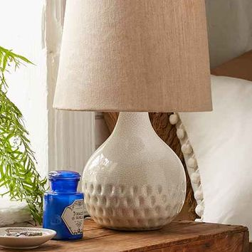 Crackled Glaze Table Lamp