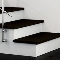 STEEL AND WOOD OPEN STAIRCASE PRIMA | RINTAL