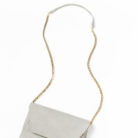 Celine Light Grey Gold Chain Bag