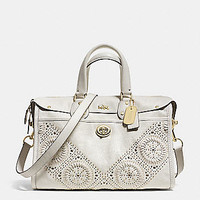 Mini Studs Rhyder Satchel in Leather