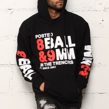 8 Ball Hooded Sweatshirt Bred
