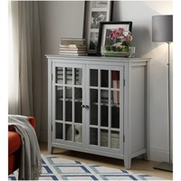 Largo Double Door Cabinet - Linon
