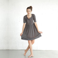 ENJOY August Sale, Spring Fashion Dress, Gray Dress
