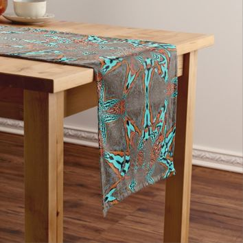 Fractal Star of Future Complexity Short Table Runner