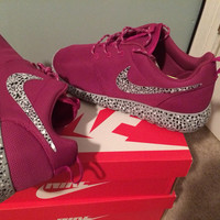 Custom Roshe Run Speckles
