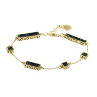 House of Harlow 1960 Jewelry The Long Rains Station Bracelet