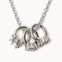 Ring Charm Necklace | FOREVER 21 - 1075968254