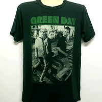 Green Day  tshirt, short sleeve t-shirt , unisex tee, black shirt tunic tank top
