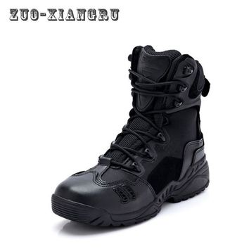 Tactical Boots Summer Combat Boots Ultralight Breathable Male Special Forces Tactical Military Shoes Men's Boots High Quality