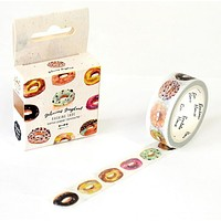 Delicious Donut Washi Tape