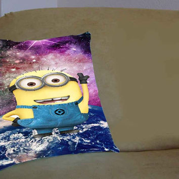 Despicable Me Minions Nebula 2 - Pillow Case, Pillow Cover, Custom Pillow Case **
