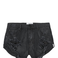 Vintage Black Bandits Shorts by One Teaspoon | WEST L.A. Boutique